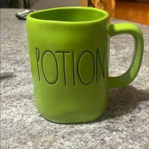 Rae Dunn Green Potion Halloween Mug